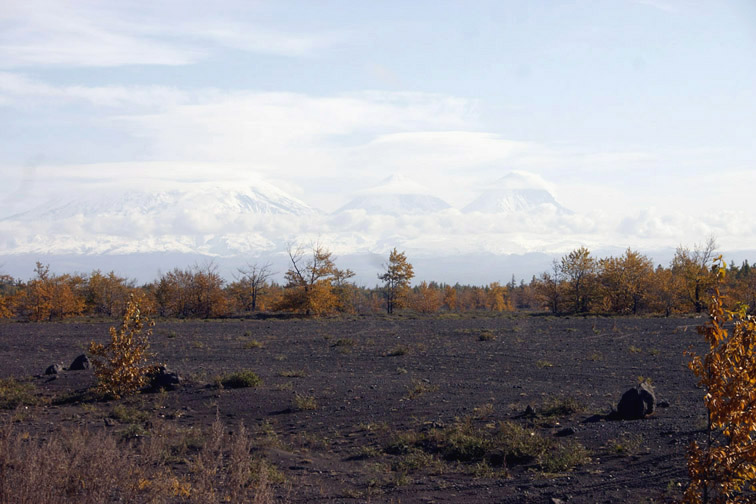 Alt-volcanoes of kamchatka