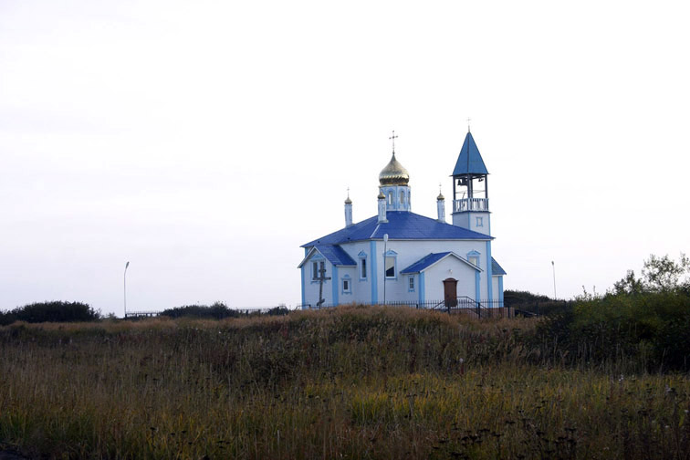 Alt-ust-kamchatsk-church