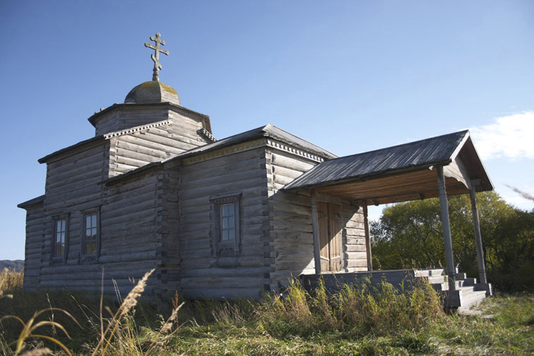 Alt-nizhnekamchatsk 1740 wooden church