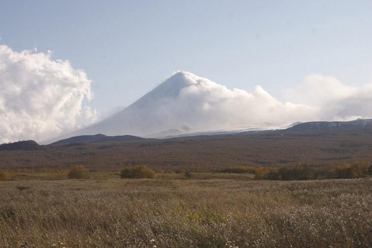 Alt-Kamchatka Klyuchevskaya Sopka volcano