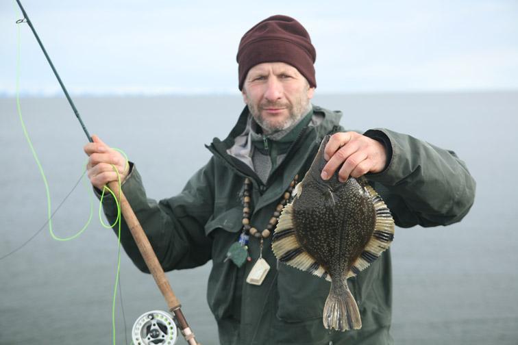 Alt-Kamchatka flounder Bering Sea flyfishing