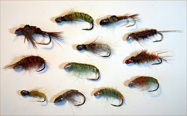 Alt-tinhead flies Siberia nymph Holey Head