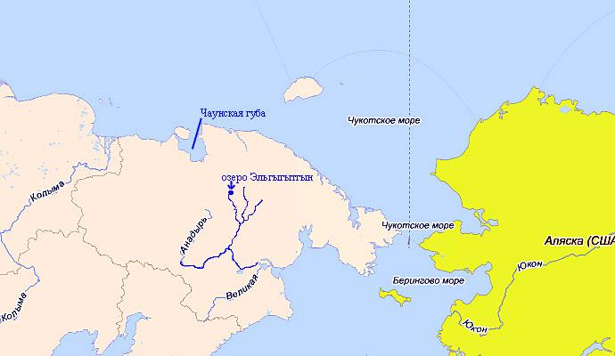 Alt-Чукотка озеро Эльгыгытгын