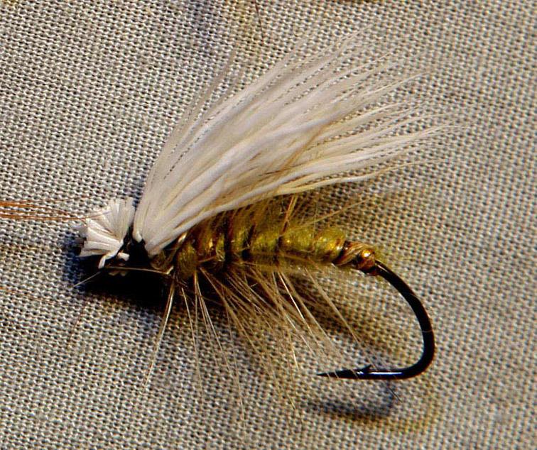 Alt-Elk Hair Caddis Far дальневосточные мухи