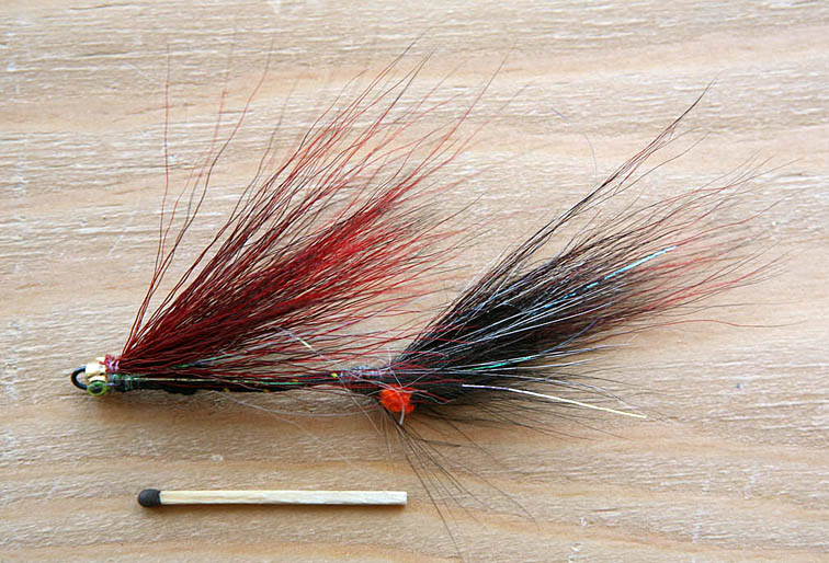 Alt-Far Eastern Flies Articulated taimen fly