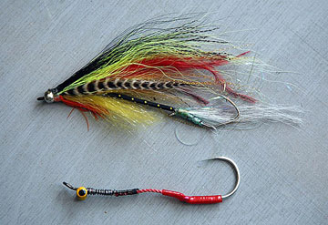 Alt-Far Eastern Flies Articulated Leech string-leech
