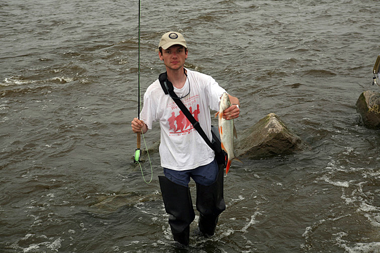 Alt-Amur flyfishing redfin