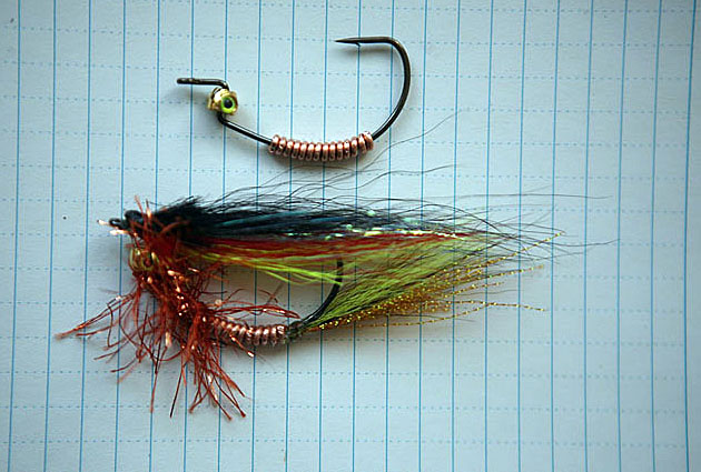 Alt-Amur flyfishing fly offset hook