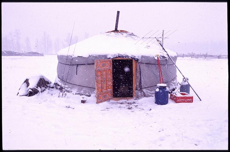 Alt-Mongolia, ger