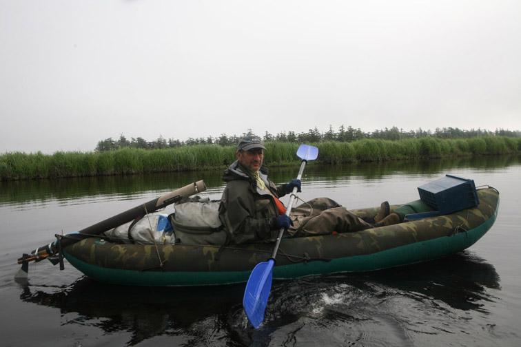 Alt-Sakhalin Island Chaivo Bay
