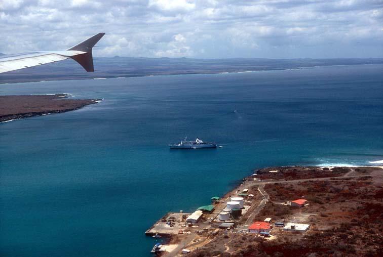Alt-Галапагосы, аэропорт, остров Балтра