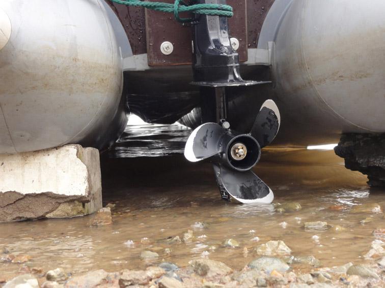 Alt-inflatble kayak-transom-Bratan-B450-Mercury5