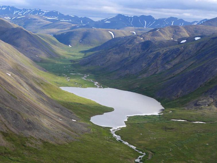 Alt-Chukotka-Utkyveem River