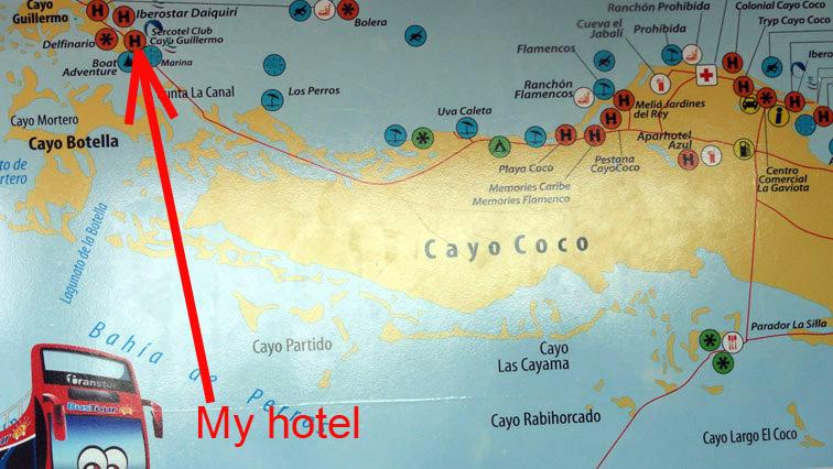 Alt-Cuba-Cayo Guillermo-Sercotel Club