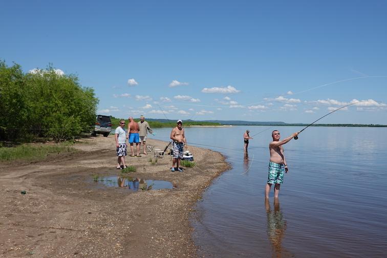 Alt-Blagoveschensk-Amurskaya oblast-flyfishing-fly casting