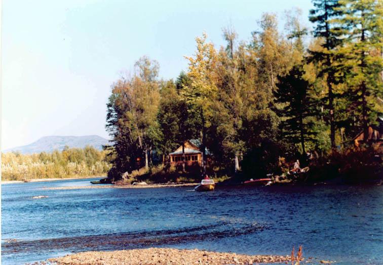 Alt-Yama River Studenaya camp
