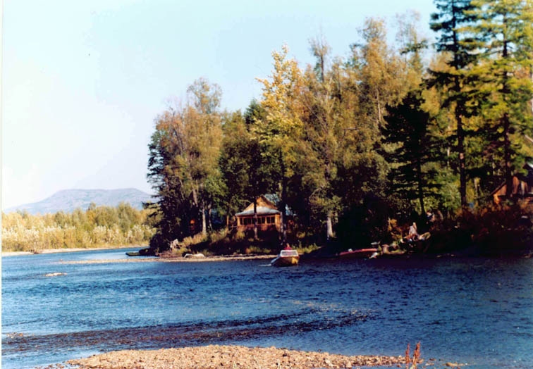Alt- река Яма Студеная рыболовная база